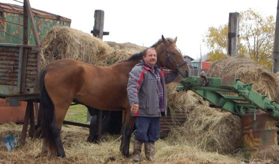 Mihail Puchkovsky and his horse