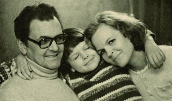 Юрий Яковлев и Ирина Сергеева с сыном