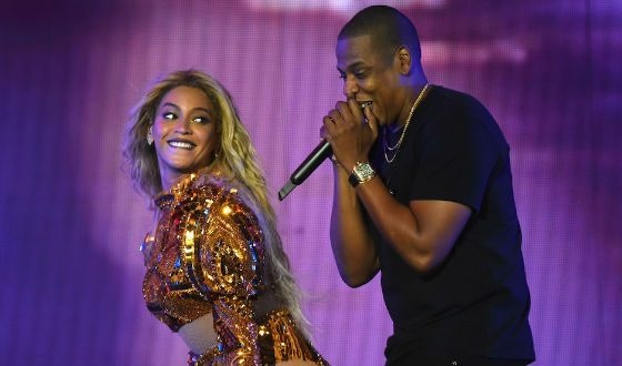 Beyonce and Jay Z showed a real passion