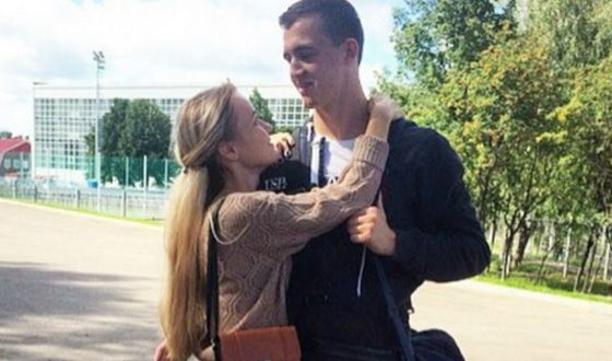 Andrei Lunev and his wife Diana