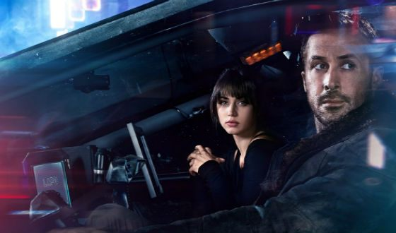 Ana de Armas and Ryan Gosling in the «Blade Runner 2049»