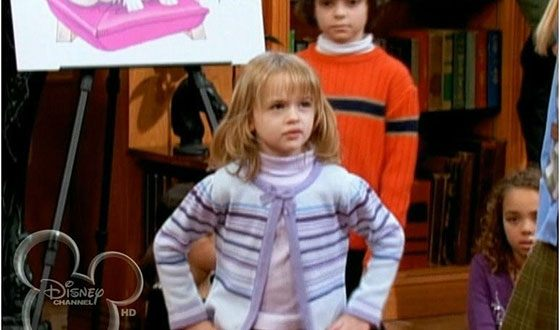 "Joey King in the TV series ""All type-top, or the life of Zack and Cody"""