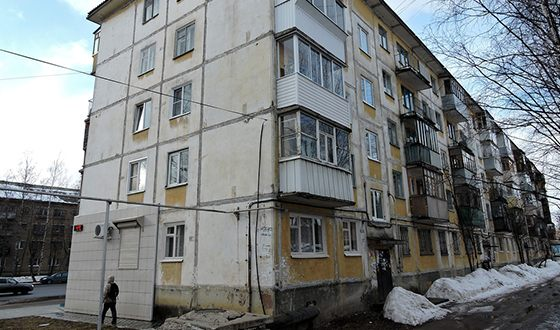 The house where little Roman Abramovich lived for some time