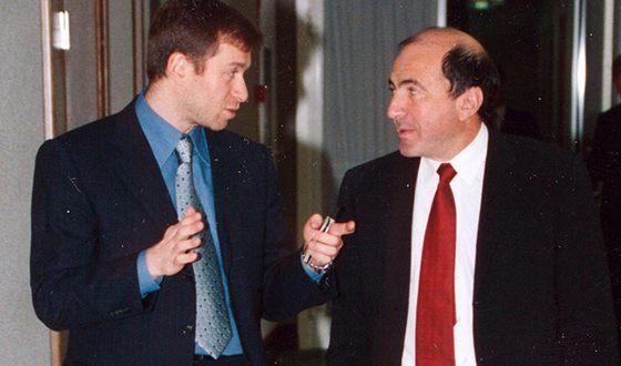 Roman Abramovich and Boris Berezovsky
