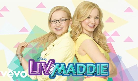 Dove Cameron plays the role of twin sisters in the series Liv and Maddie