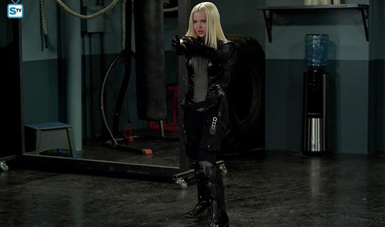 Dove Cameron in the Agents of S.H.I.E.L.D. series