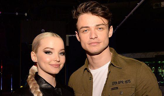 Dove Cameron and her boyfriend Thomas Doherty
