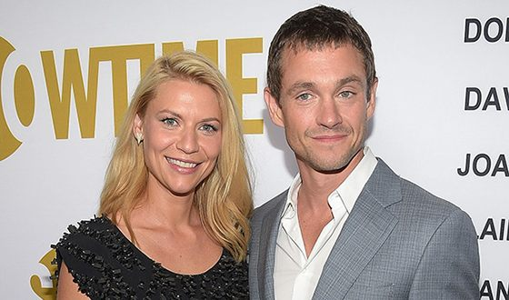 Hugh Dancy and his wife Claire Catherine Danes