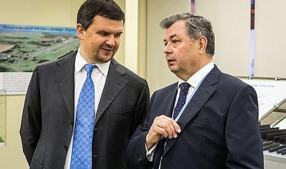 Максим Акимов и Анатолий Артамонов