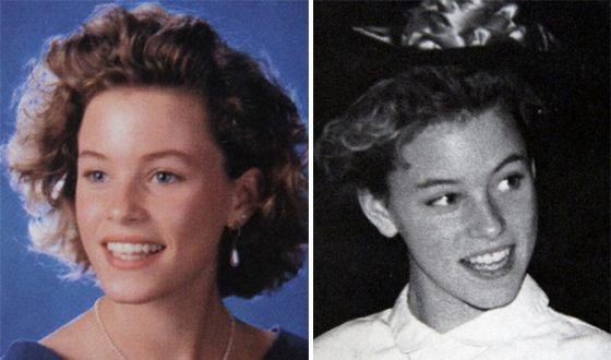 Elizabeth Banks in her youth