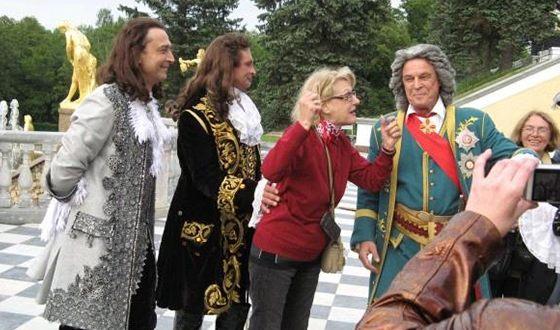 На съемках сериала «Тайны дворцовых переворотов»