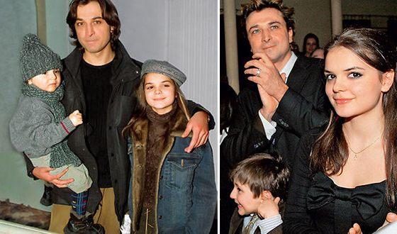 Александр Лазарев с детьми