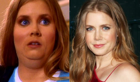 Amy Adams, 27, in the Mystery Smallville Season 1 and in life