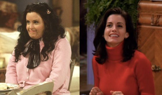 "In the sixth season, ""Friends"" showed thick Monica"