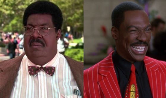 Sherman Klump and his alter ego Buddy Love