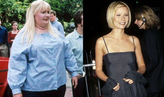 Gwyneth Paltrow did not like being fat. Even make-believe