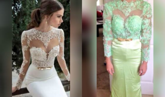 Свадебное платье с AliExpress: ожидание и реальность