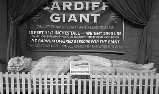 Сейчас Кардиффский гигант хранится в Музее фермеров в Нью-Йорке