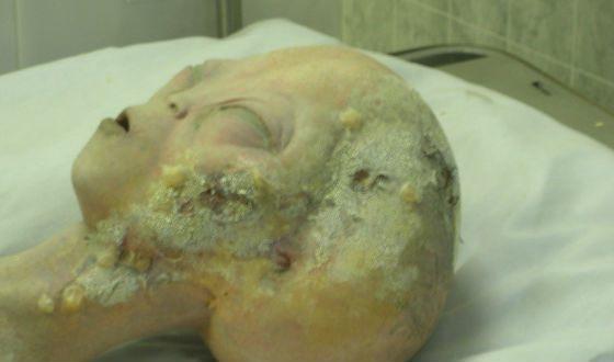 Видео с аутопсией пришельца быстро разоблачили