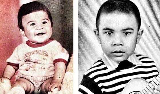 Rapper doni in childhood