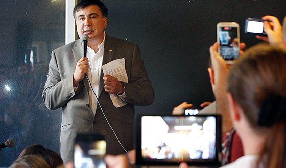Михаил Саакашвили стал читать лекции в университете