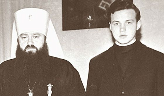 In the photo: Vladimir Gundyaev and Metropolitan Nicodemus