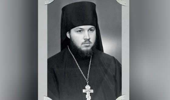 Hieromonk Cyril on the day of ordination