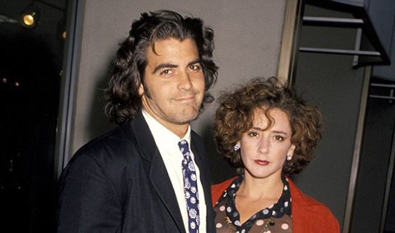 George Clooney and his wife Talia Balsam