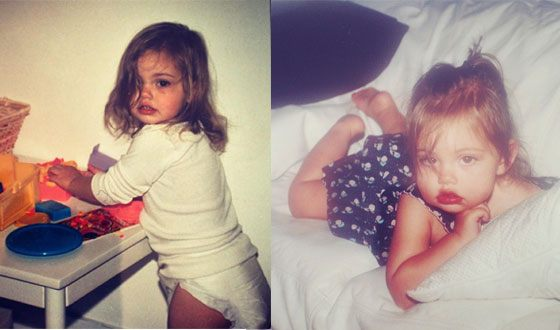 Phoebe Tonkin in childhood