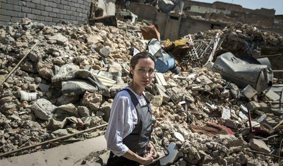 Jolie in Iraq (June 2018)