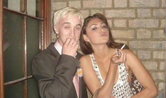 In her youth, Phoebe Tonkin met with Tom Felton