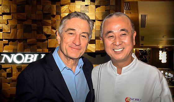 Роберт Де Ниро владеет сетью ресторанов японской кухни