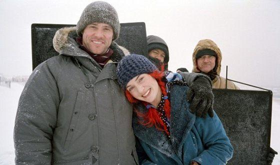 Кейт Уинслет на съемках фильма «Вечное сияние чистого разума»
