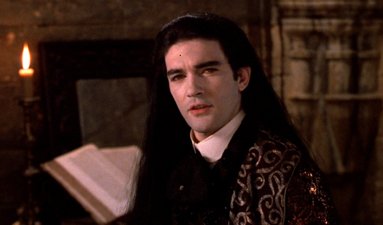 Antonio Banderas in the movie «Interview with the Vampire»