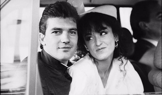 Antonio Banderas and his first wife Ana Leza