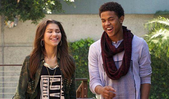 Sendaya and Trevor Jackson