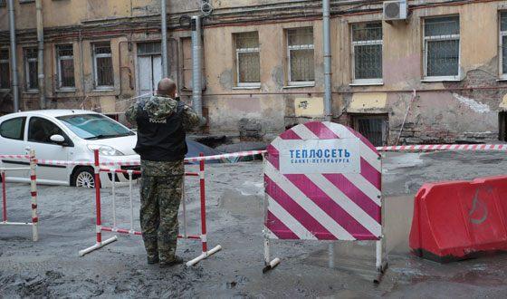 В Санкт-Петербурге два человека погибли из-за прорыва трубы с кипятком