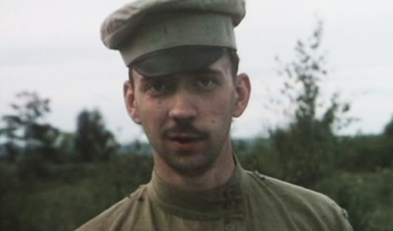 "Alexey Simonov in the film ""White Horse"""
