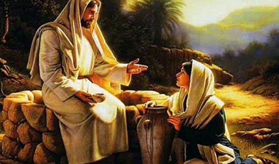 Встреча Марии Магдалины и Иисуса Христа