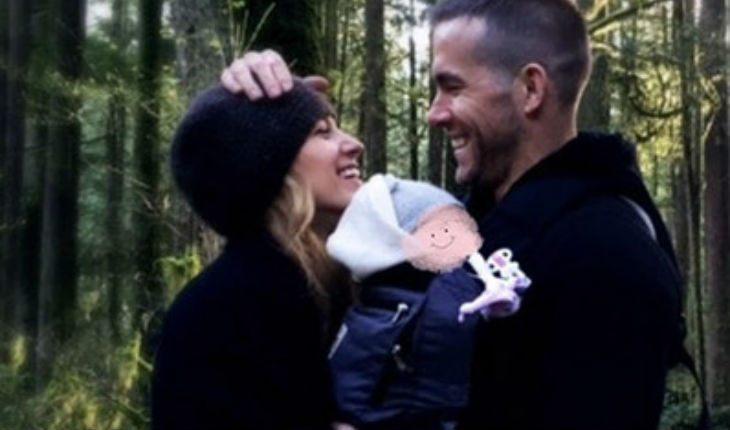 Новое фото: Райан Рейнольдс с супругой рассекретили пол третьего ребенка