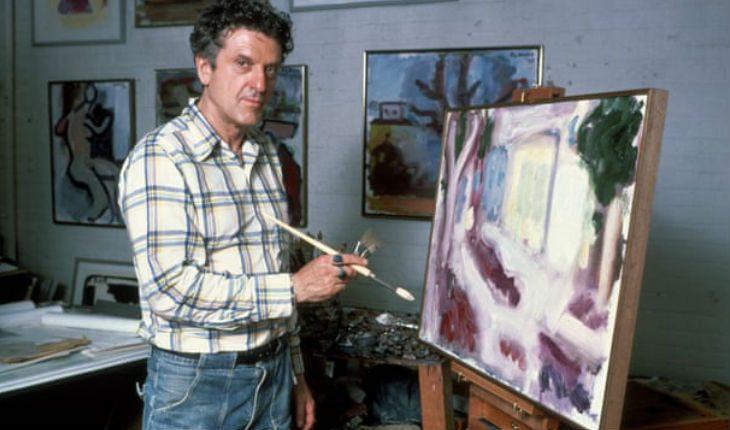 Роберт Де Ниро-старший в своей художественной мастерской