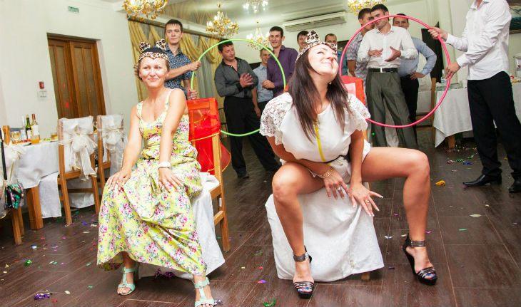 Идиотские конкурсы на свадьбах