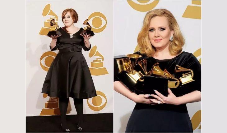 певица адель до и после похудения