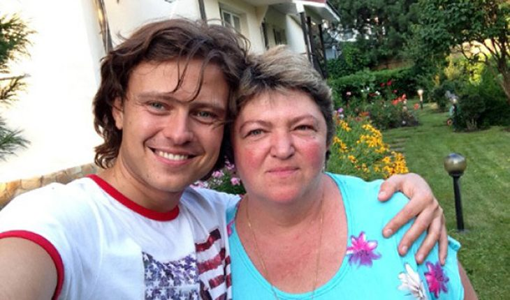 Прохор Шаляпин с матерью