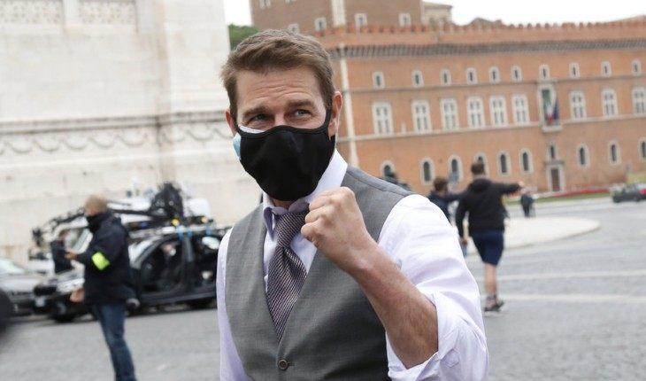 Том Круз обругал съемочную команду фильма «Миссия невыполнима 7» за несоблюдение дистанции