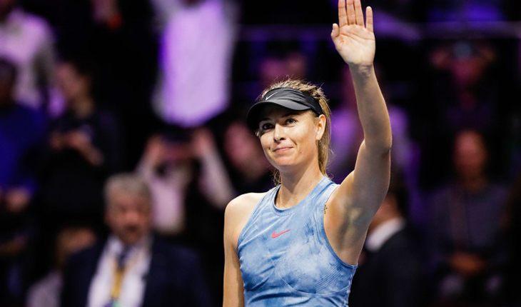 Шарапова попрощалась с теннисом