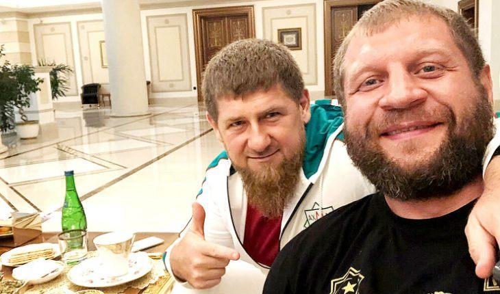 Емельяненко и Кадыров извинились перед Тиной Канделаки