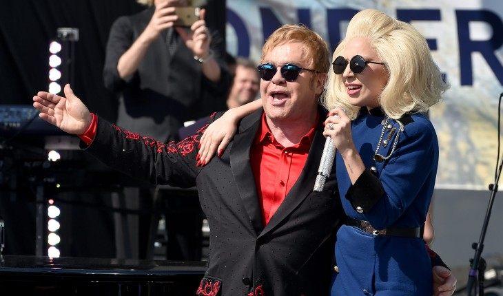 Леди Гага и Элтон Джон часто выступают вместе