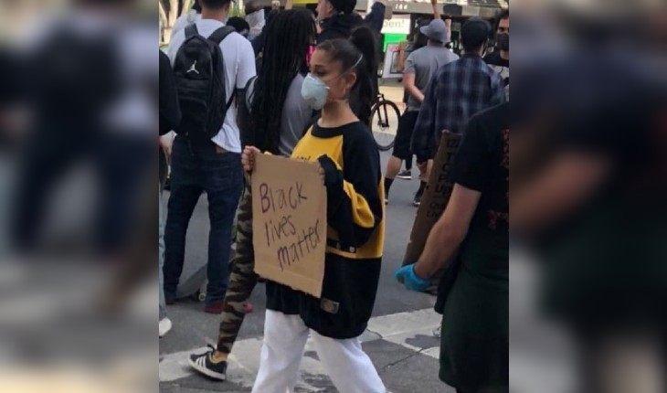 Кара Делевинь, Ариана Гранде и другие: знаменитости вышли на митинги #BlackLivesMatter