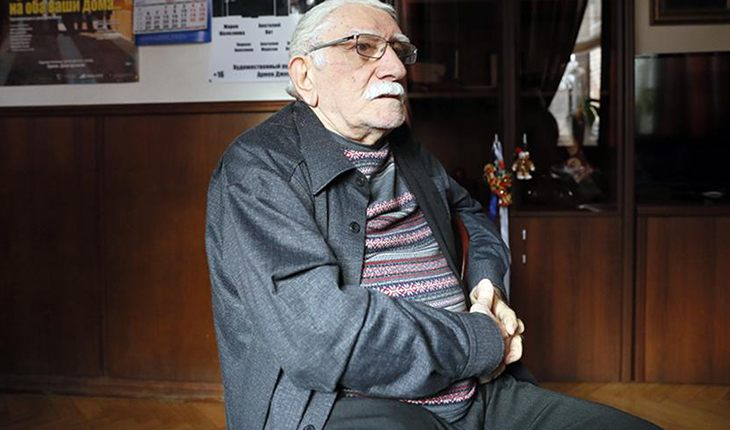 СМИ: Армен Джигарханян госпитализирован в тяжелом состоянии